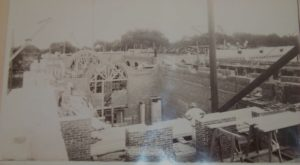 1909 Photo of Connecticut State Library Under Construction