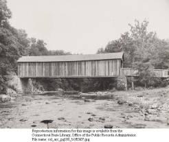 Comstock covered bridge