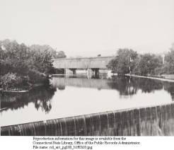 Railroad covered bridge Collinsville