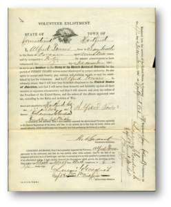 Example of a Volunteer Enlistment